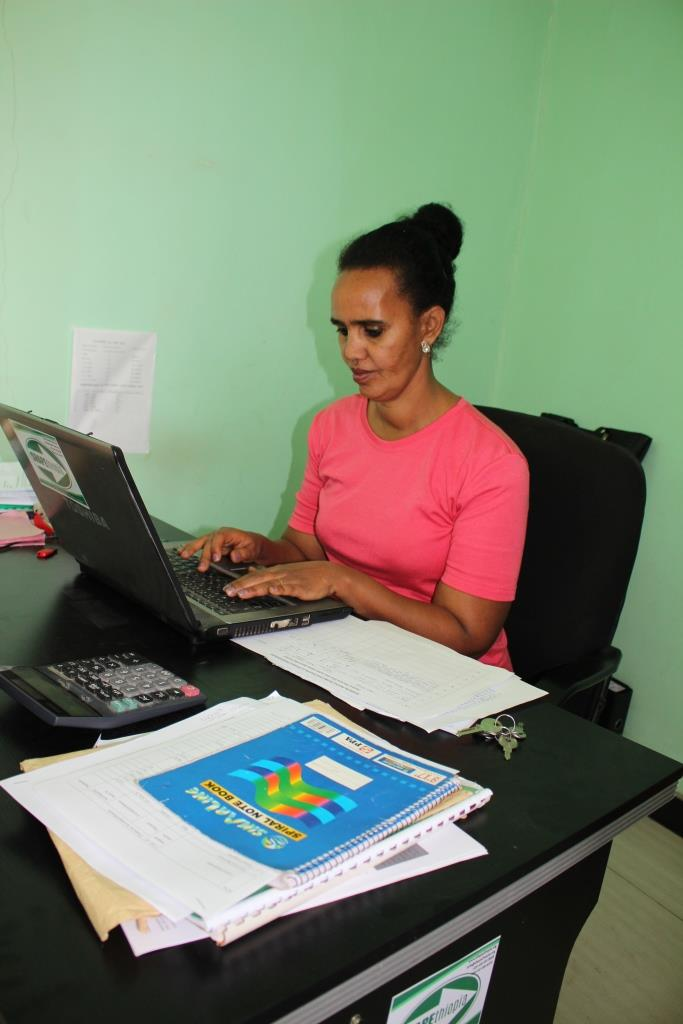 Senait Gebre, Director of Grants, Finance and Human Resource